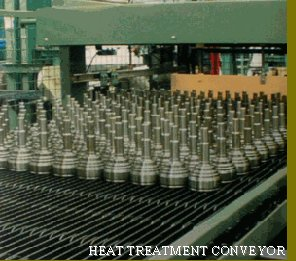 Specialist heat treatment conveyor